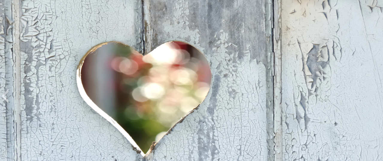 hjerte i hegn symboliserer parterapi