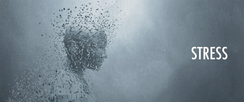 person med stress er ved at gå i opløsning