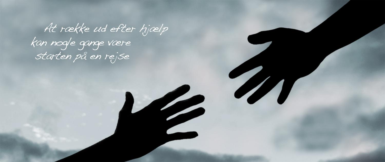 Hænder der rækker ud mod hinanden for kontakt